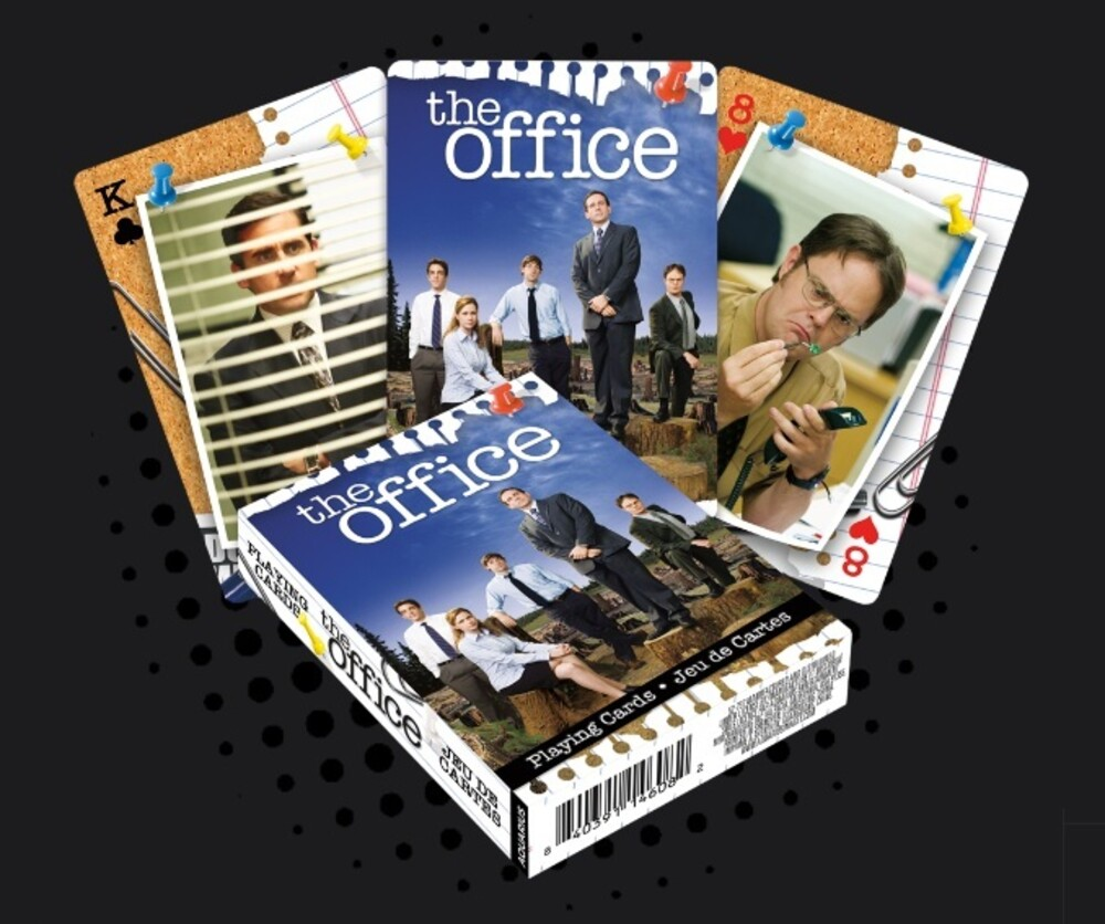 - The Office Cast Playing Cards Deck