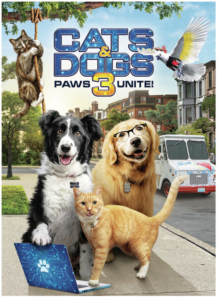 - Cats & Dogs 3: Paws Unite / (Ecoa)