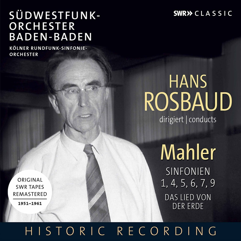 Hans Rosbaud - Rosbaud Conducts Mahler (Box)