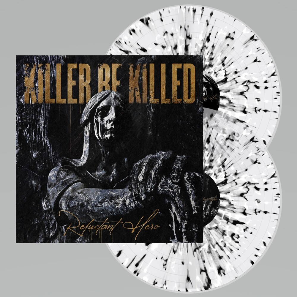 Killer Be Killed - Reluctant Hero [Limited Edition Clear w/ Black & White Splatter 2LP]
