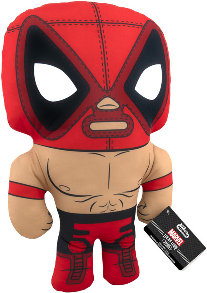 Funko Pop! Plush: - FUNKO POP! PLUSH: Marvel Luchadores- Deadpool 17.5