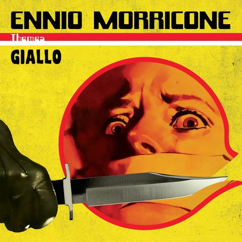 Ennio Morricone Colv Ogv - Giallo themes (Giallo & Black Marbled Vinyl)
