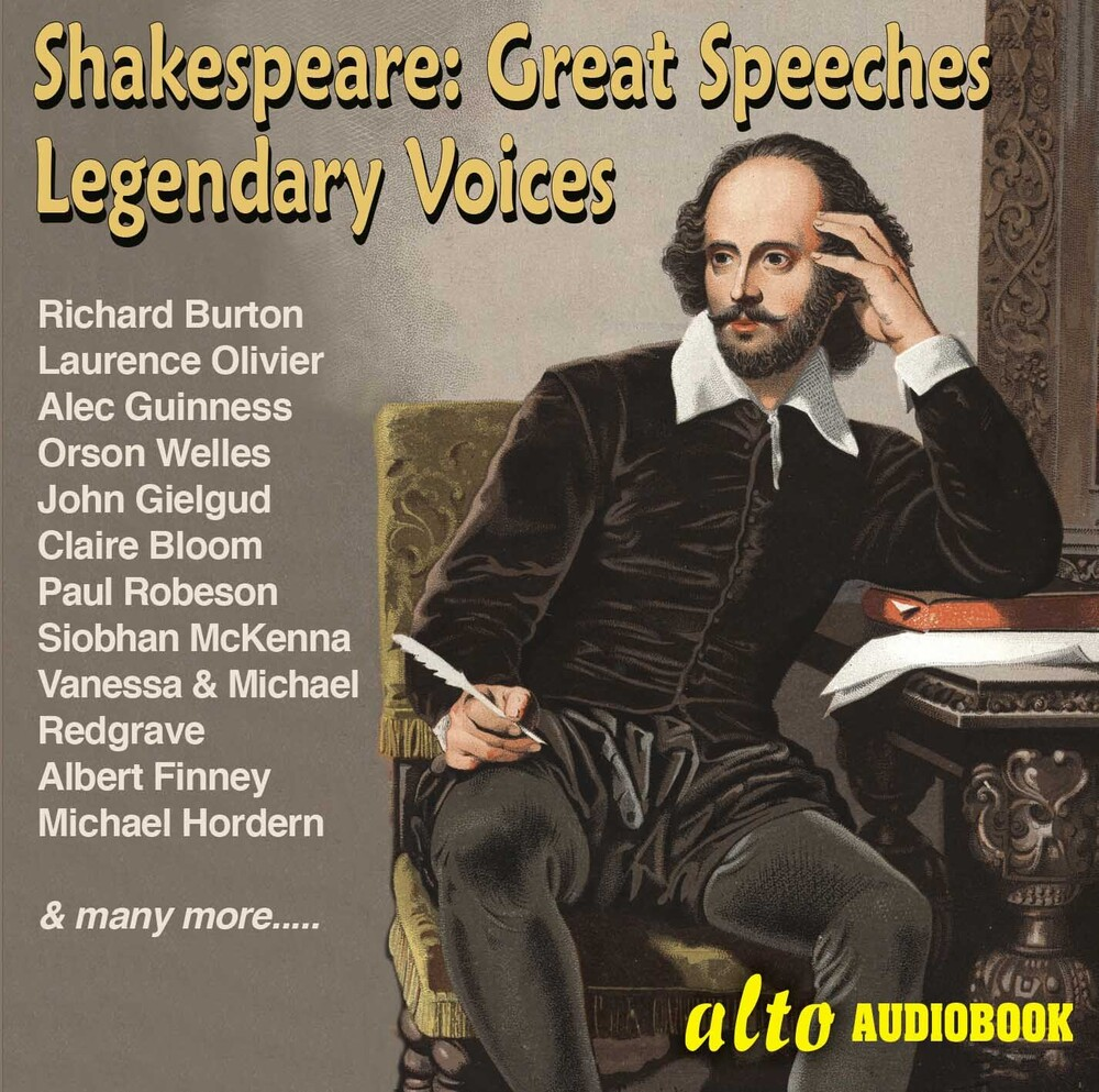 Richard Burton / Olivier,Laaurence / Welles,Orson - Great Shakespeare Speeches: Famous Voices