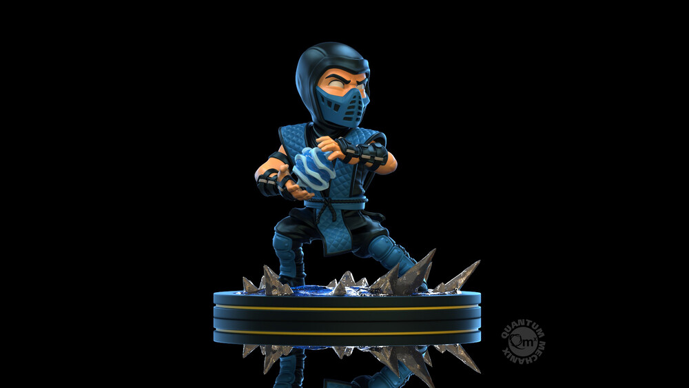 Mortal Kombat Sub-Zero Q-Fig - Quantum Mechanix QMx - Mortal Kombat Sub-Zero Q-Fig