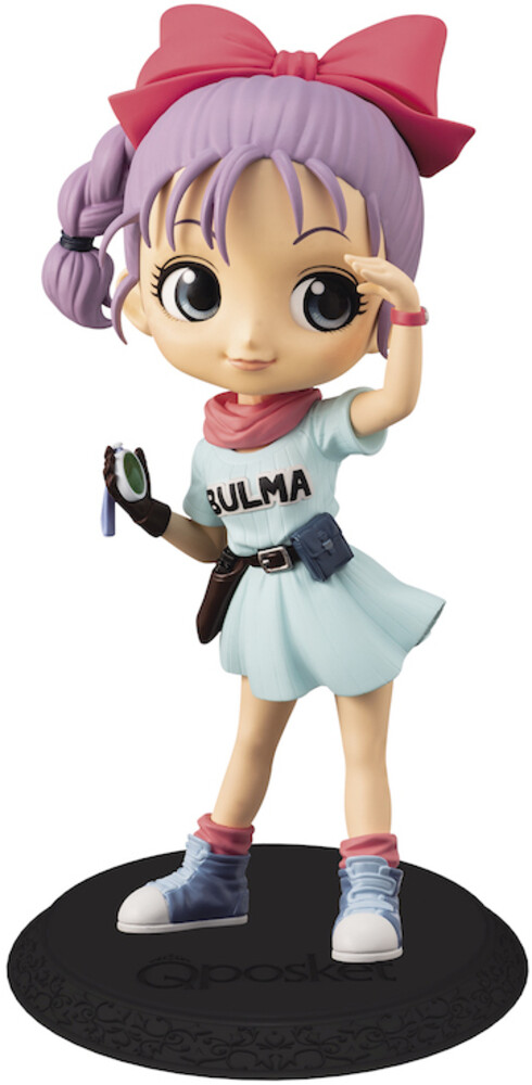 Banpresto - BanPresto - Dragon Ball Bulma Q posket Figure Version 2