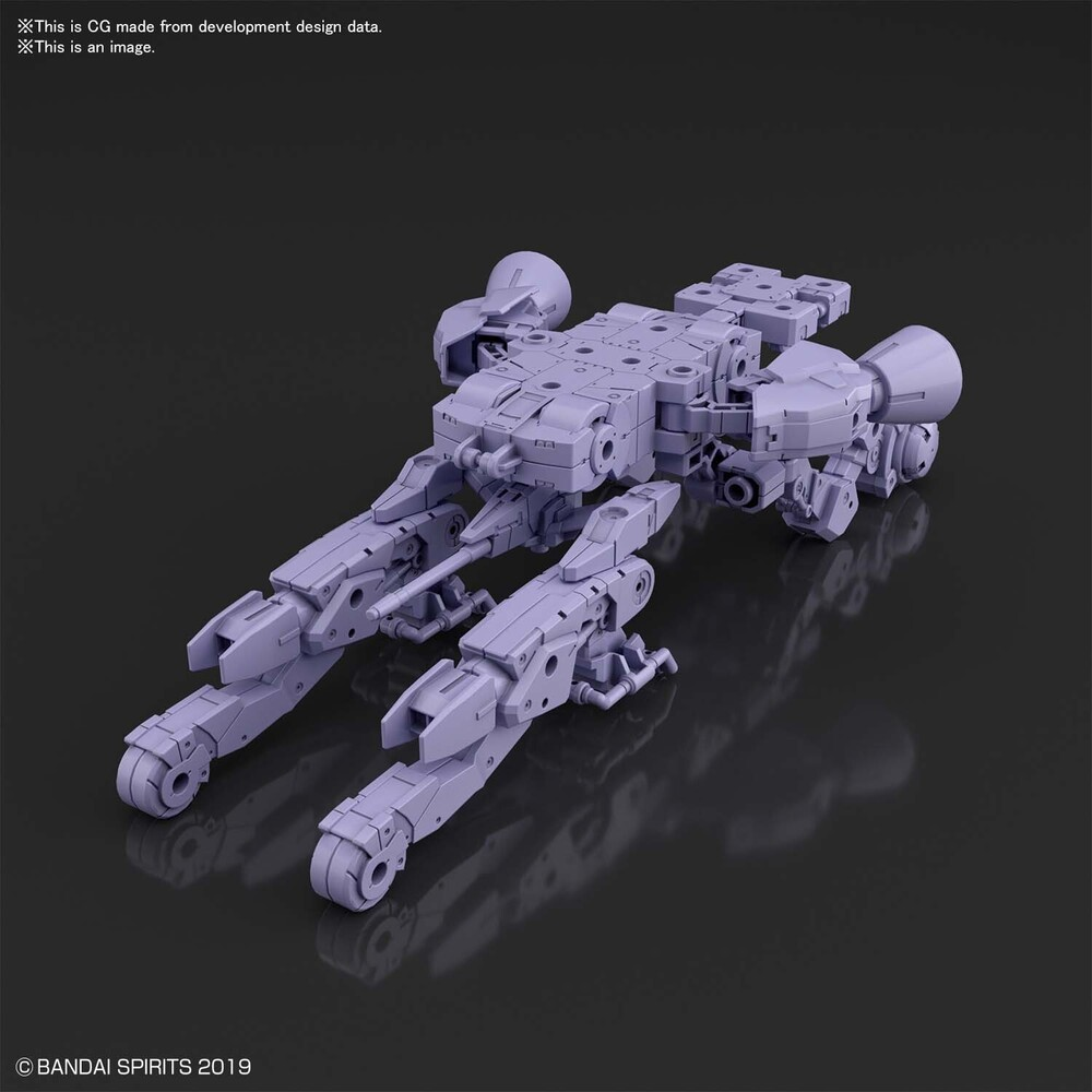 Bandai Hobby - Bandai Hobby - 30 Minute Missions - #07 Space Craft (Purple) 30MM1/144, Bandai Spirits Extended Armament Vehicle