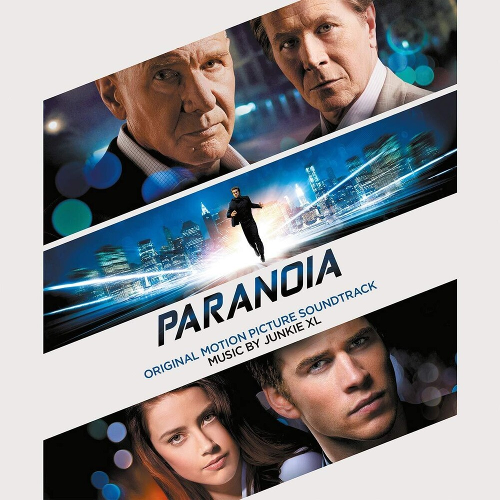 Junkie XL - Paranoia (Original Soundtrack) [Limited 180-Gram Translucent BlueColored Vinyl]