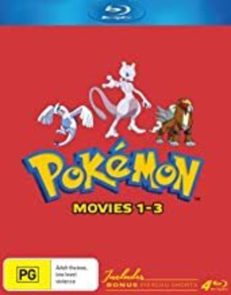 Pokemon Movies 1-3: Collector's Edition - Pokémon Movies 1-3