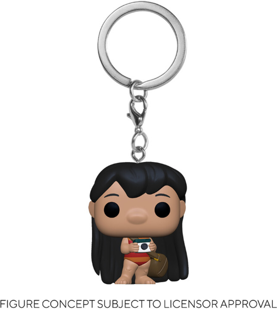 - FUNKO POP! KEYCHAIN: Lilo & Stitch- Lilo w/Camera