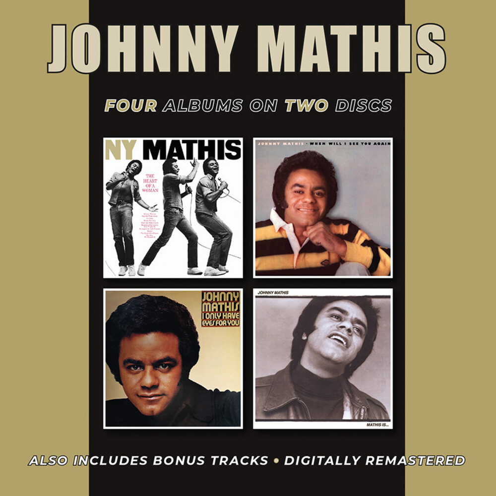 Johnny Mathis - Heart Of A Woman / When Will I See You Again (Uk)