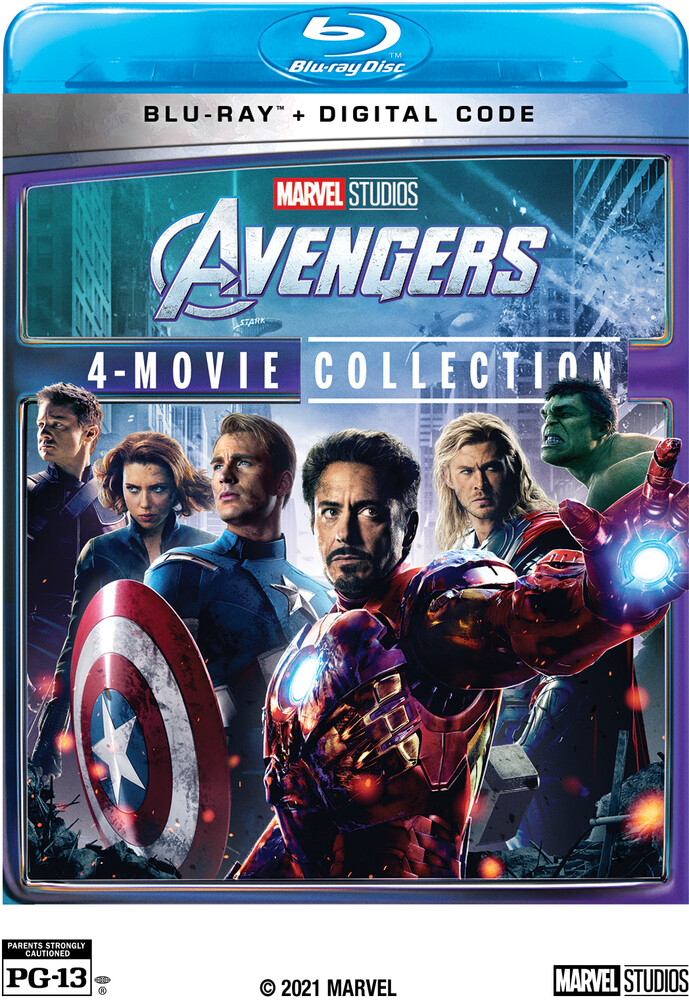 Avengers: 4-Movie Collection - Avengers: 4-Movie Collection (Marvel)