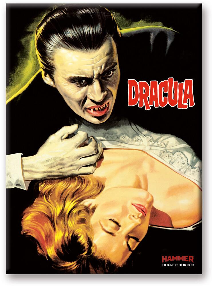 Hammer Dracula Girl 2.5 X 3.5 Flat Magnet - Hammer Dracula Girl 2.5 x 3.5 Flat Magnet