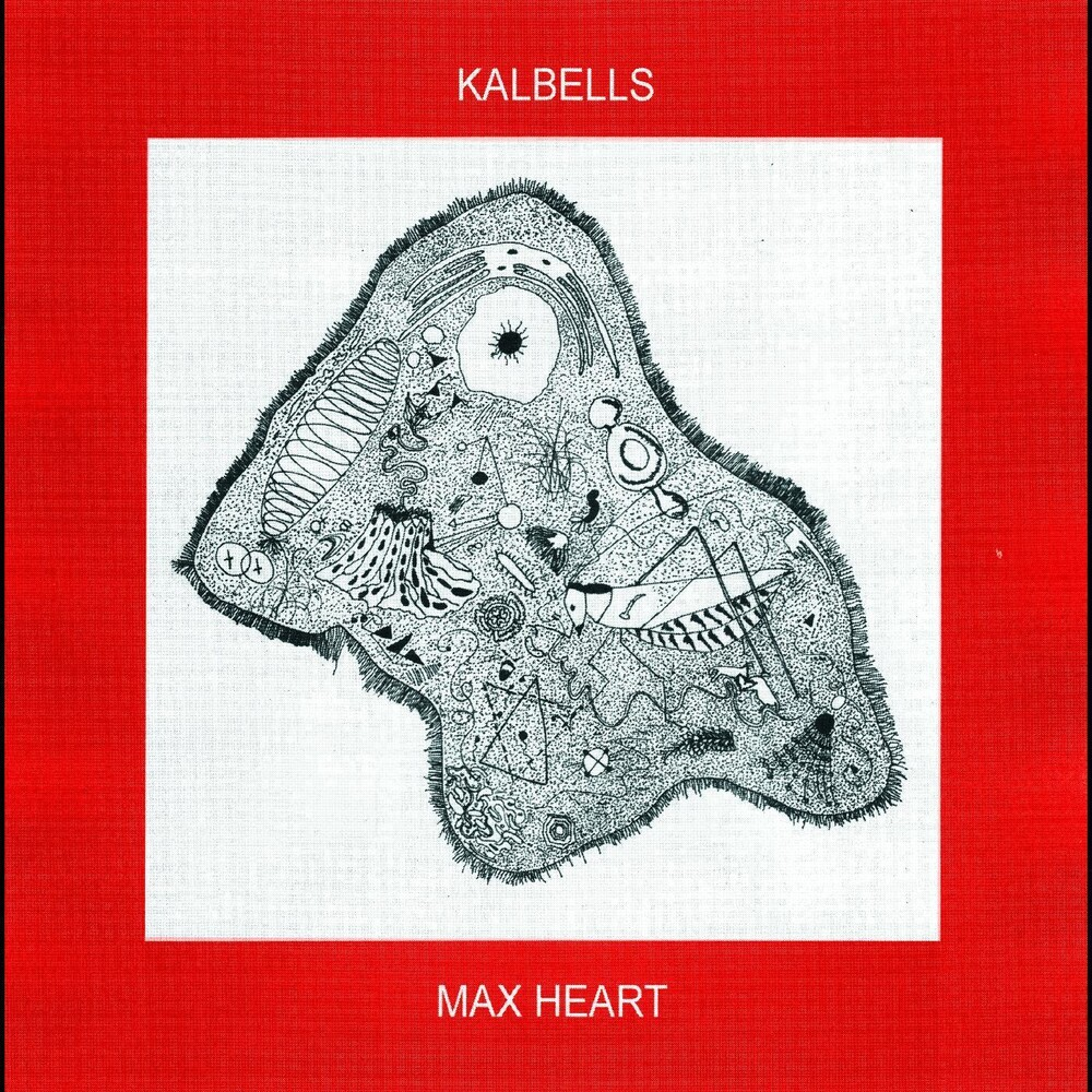 Kalbells - Max Heart [Colored Vinyl] (Red) [Indie Exclusive] [Download Included]