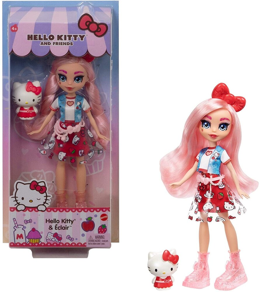 - Mattel - Hello Kitty and Friends Figure & Eclair (Sanrio)