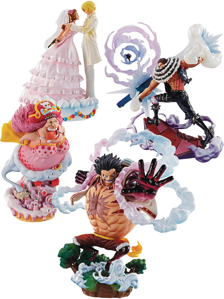 - One Piece Logbox Rebirth Whole Cake Island Limited