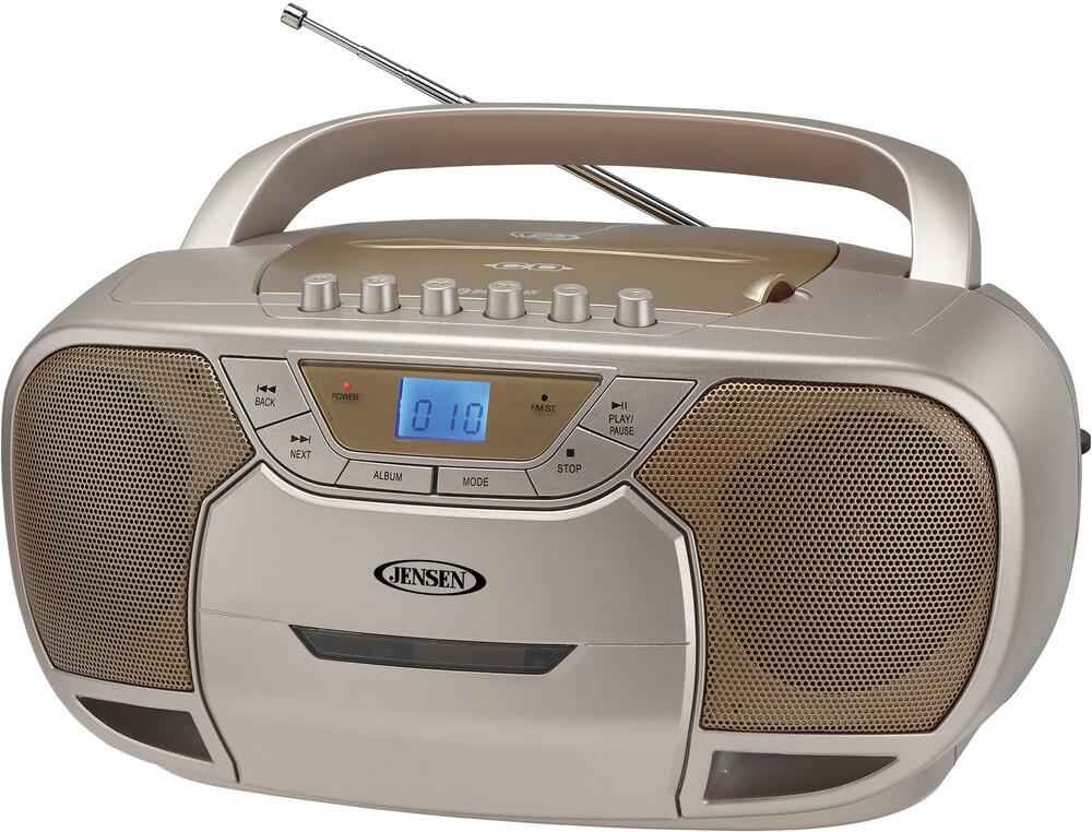 - Jensen Cd590c Bt Bmbx Cd Cassette Recorder Am/Fm
