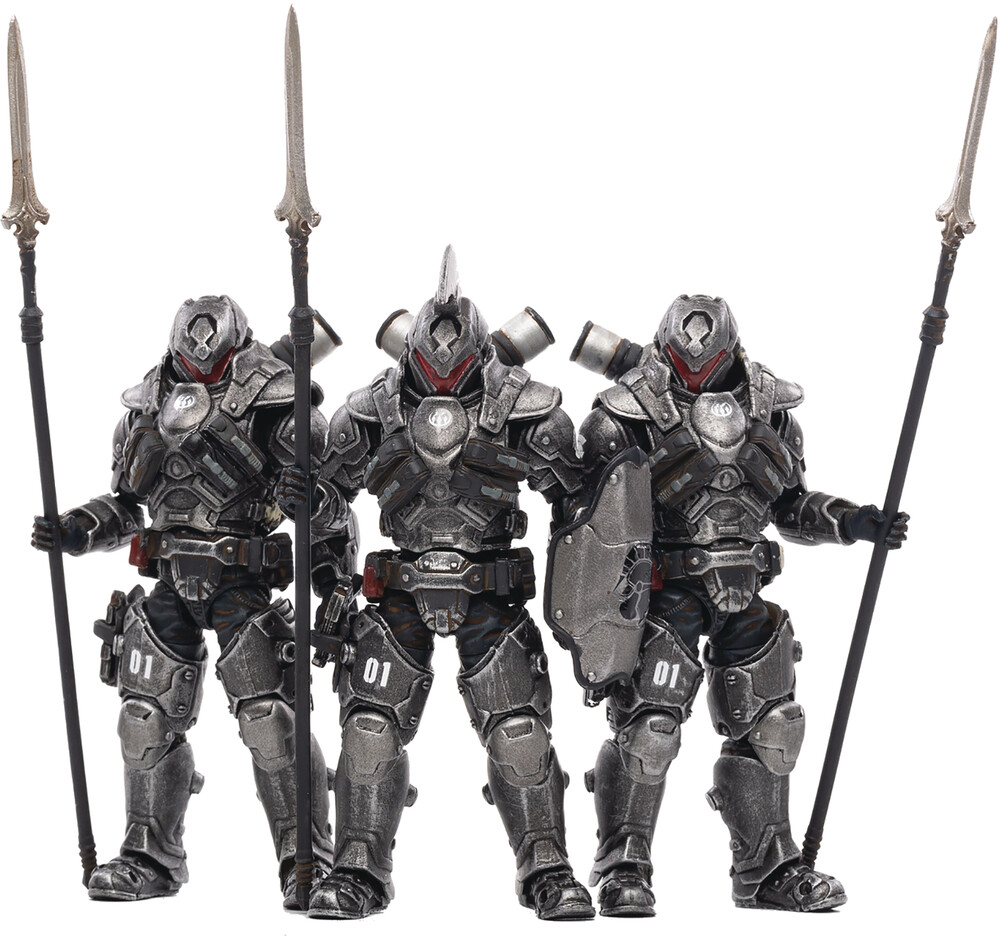 - Joy Toy 01st Legion Steel Spear 1/18 Fig 3pk (Net)