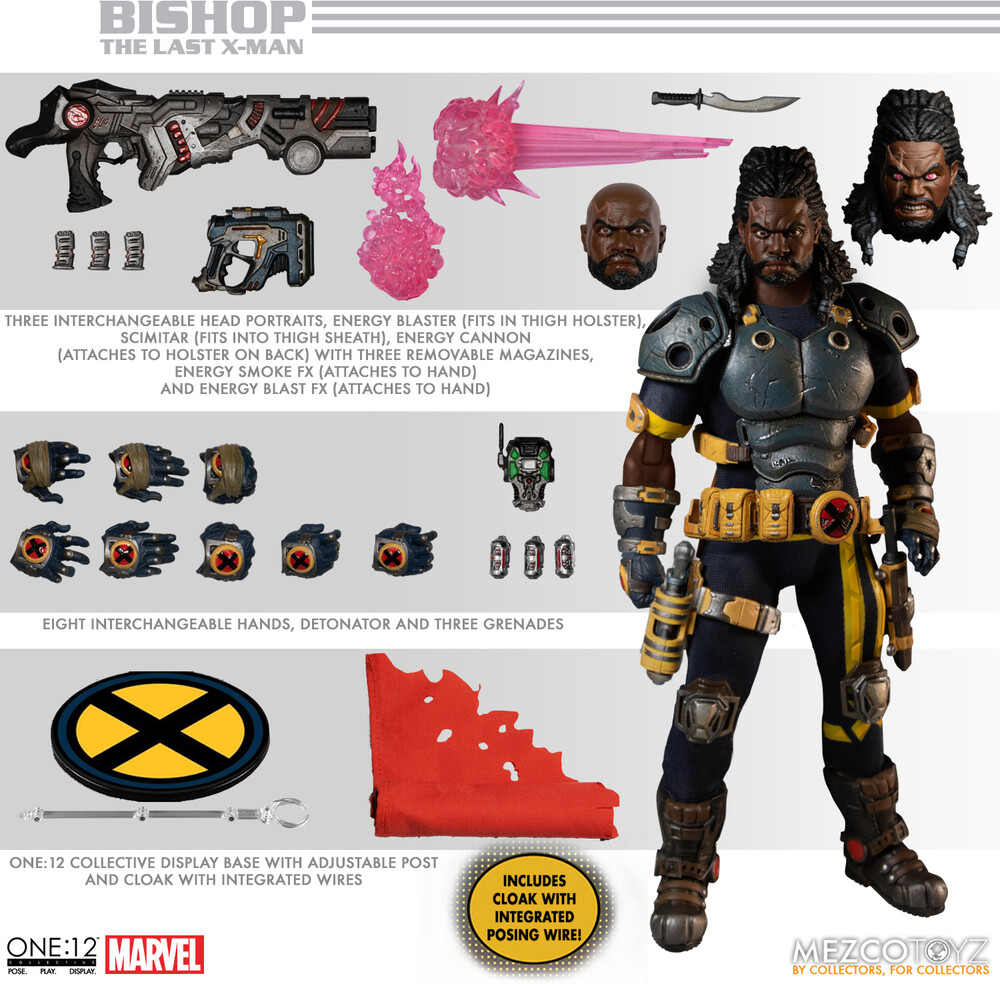 - One:12 Collective - Bishop: The Last X-Man (Clcb)