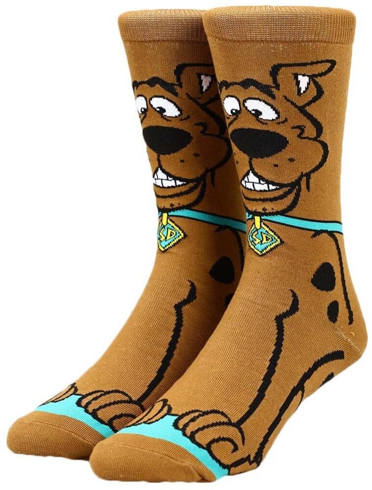 Scooby Doo Crew Socks 8-12 - Scooby Doo Crew Socks 8-12 (Mult) (Sock)