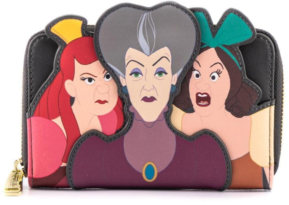 Loungefly Disney: - Villains Scene Evil Stepmother And Step Sisters Zi