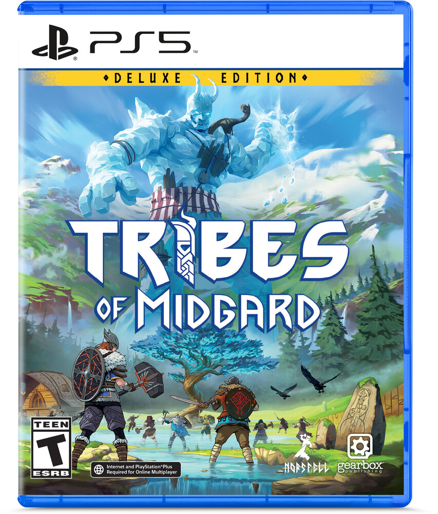Ps5 Tribes of Midgard: Deluxe Ed - Ps5 Tribes Of Midgard: Deluxe Ed
