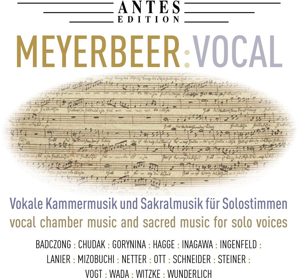 Meyerbeer - Vocal Works (2pk)
