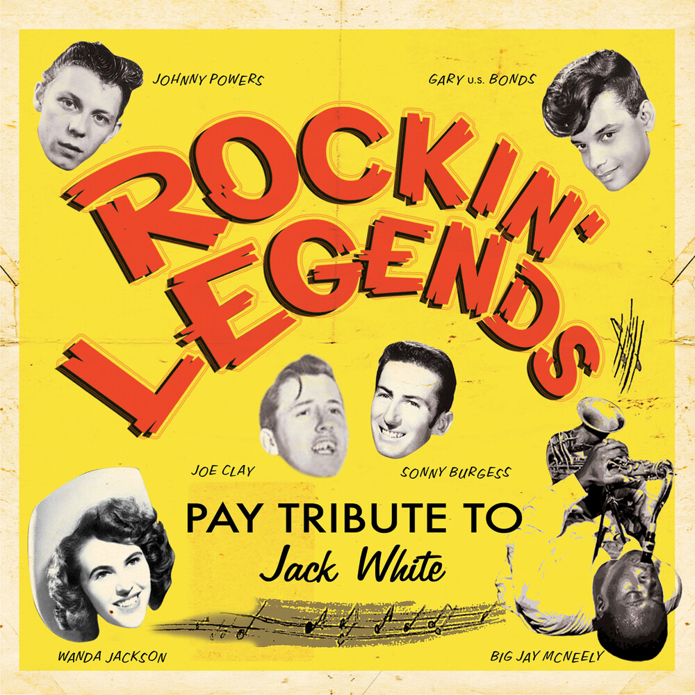 Various Artists - Rockin' Legends Pay Tribute To Jack White / Various