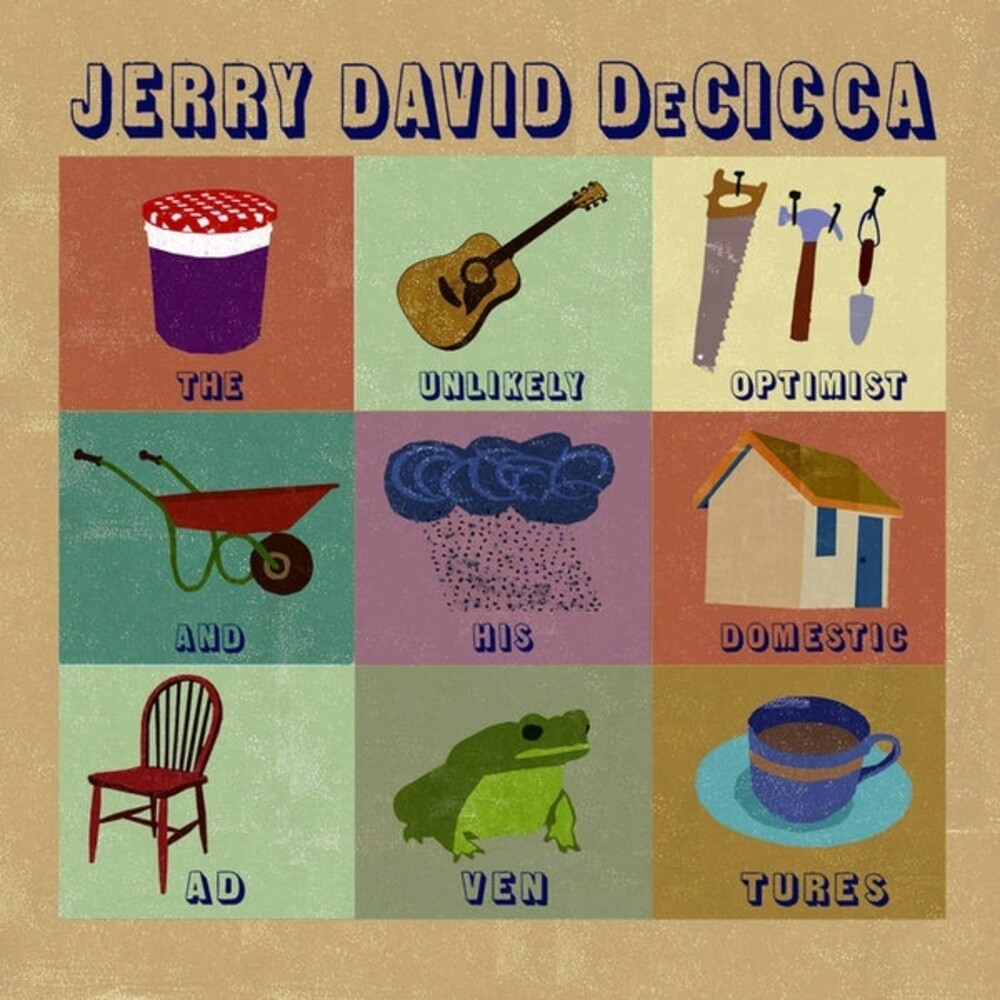 Jerry Decicca  David - Unlikely Optimist & His Domestic Adventures