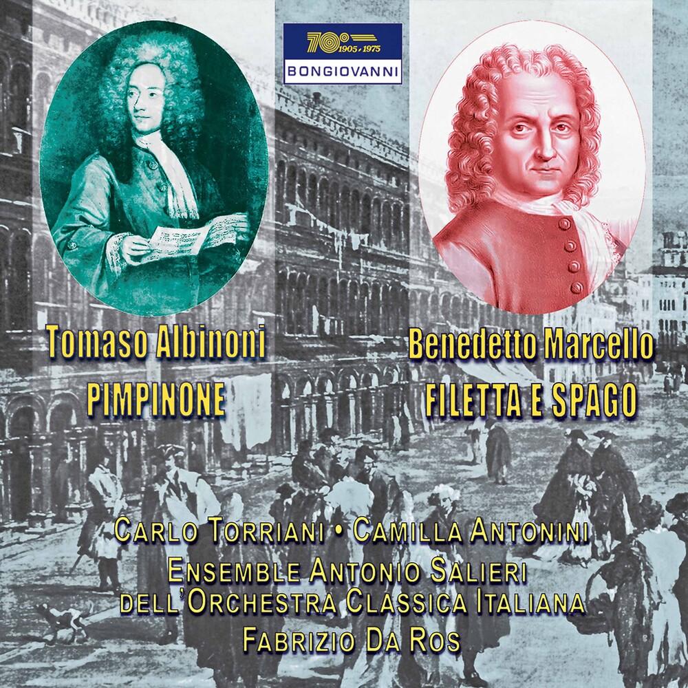 Albinoni / Antonini / Da Ros - Pimpinone - Filetta E Spago