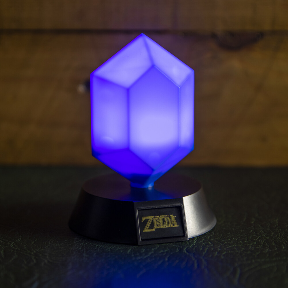 Legend of Zelda Blue Rupee Icon Light - Legend of Zelda Blue Rupee Icon Light