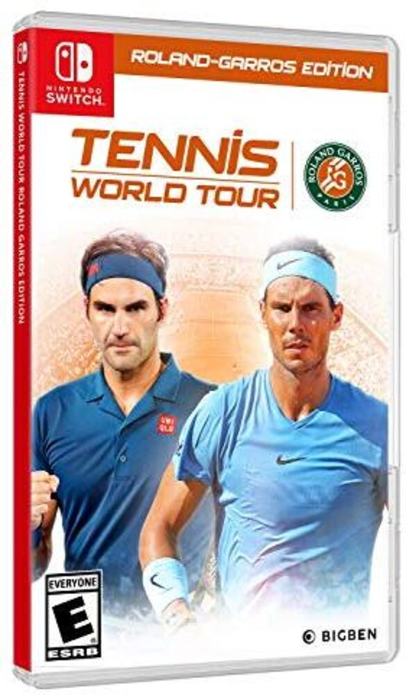 - Tennis World Tour Roland-Garros Edition for Nintendo Switch