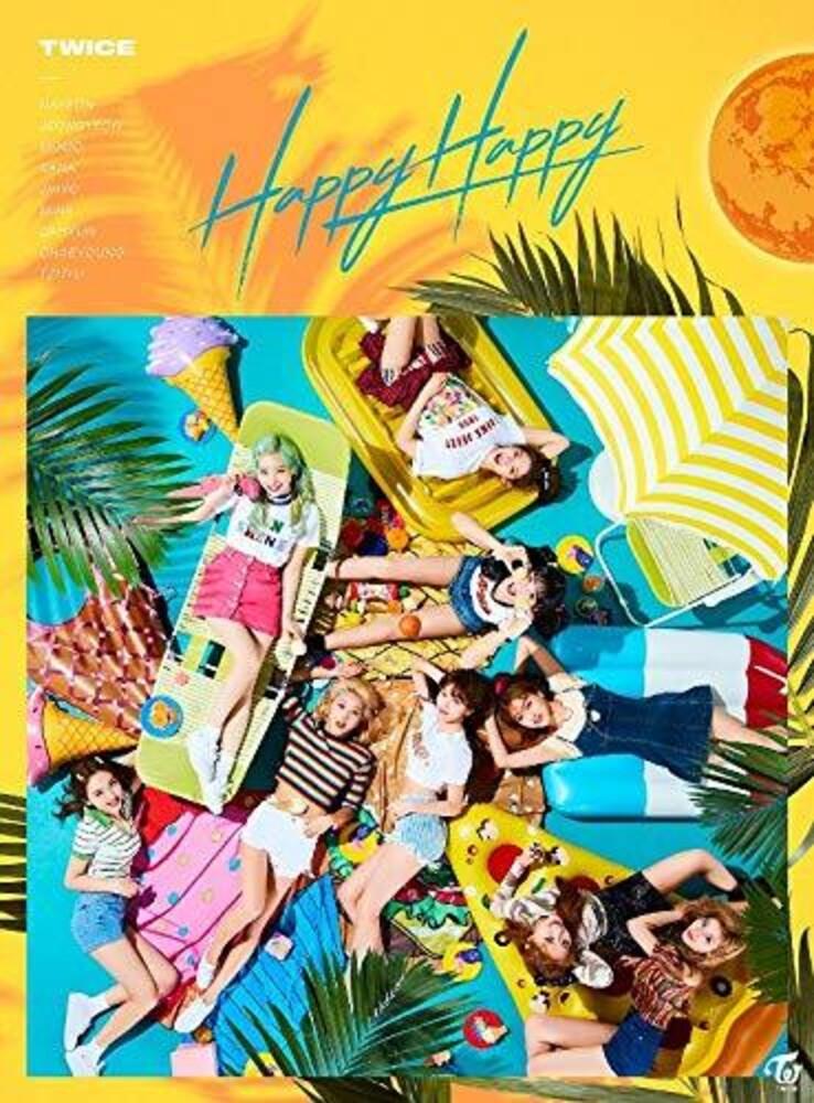 Twice - Happy Happy (Version A) (Jpn)