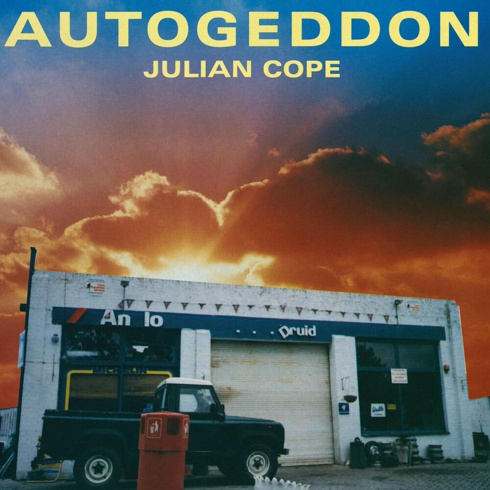 Julian Cope - Autogeddon (Blue) (Box) [Colored Vinyl] (Wsv) (Aniv)