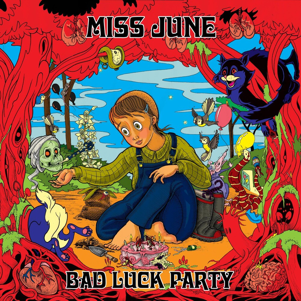 Miss June - Bad Luck Party [Indie Exclusive Limited Edition Blue LP]