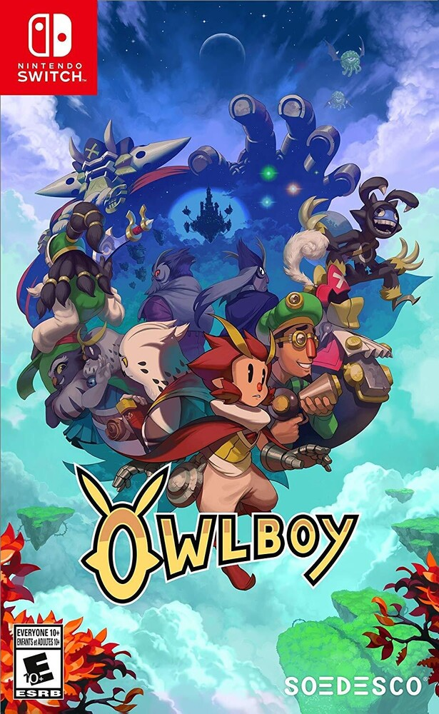 - Owlboy Standard Edition for Nintendo Switch