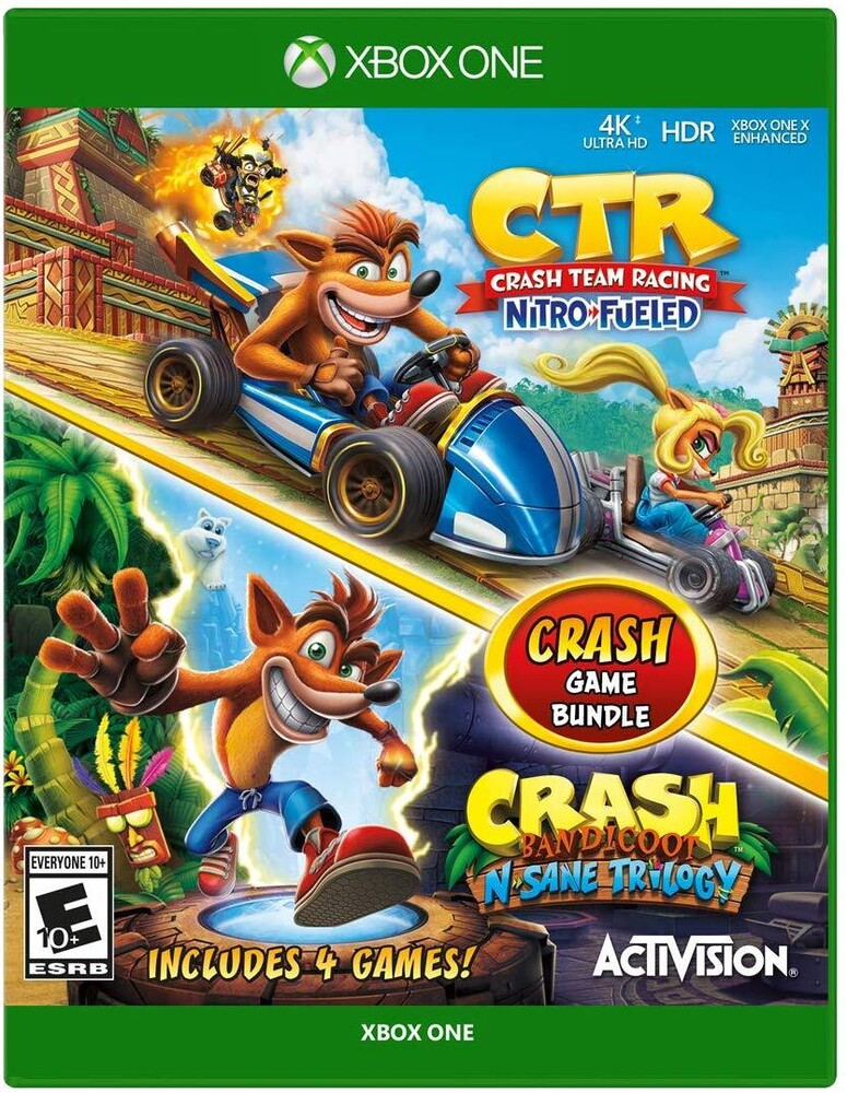 Xb1 Crash Bandicoot N.Sane Trilogy 2Pk - Crash Bandicoot N.Sane Trilogy 2pk