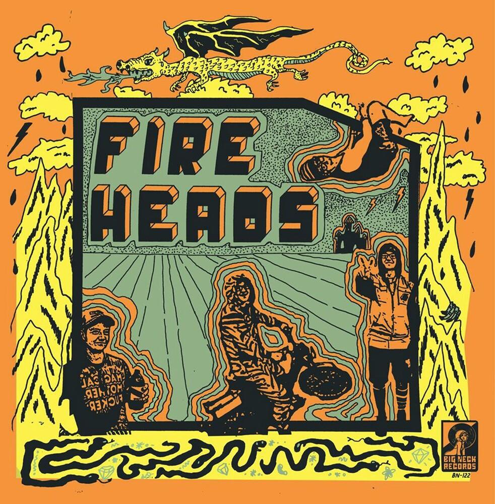 Fire Heads / Sex Scenes - Split Lp