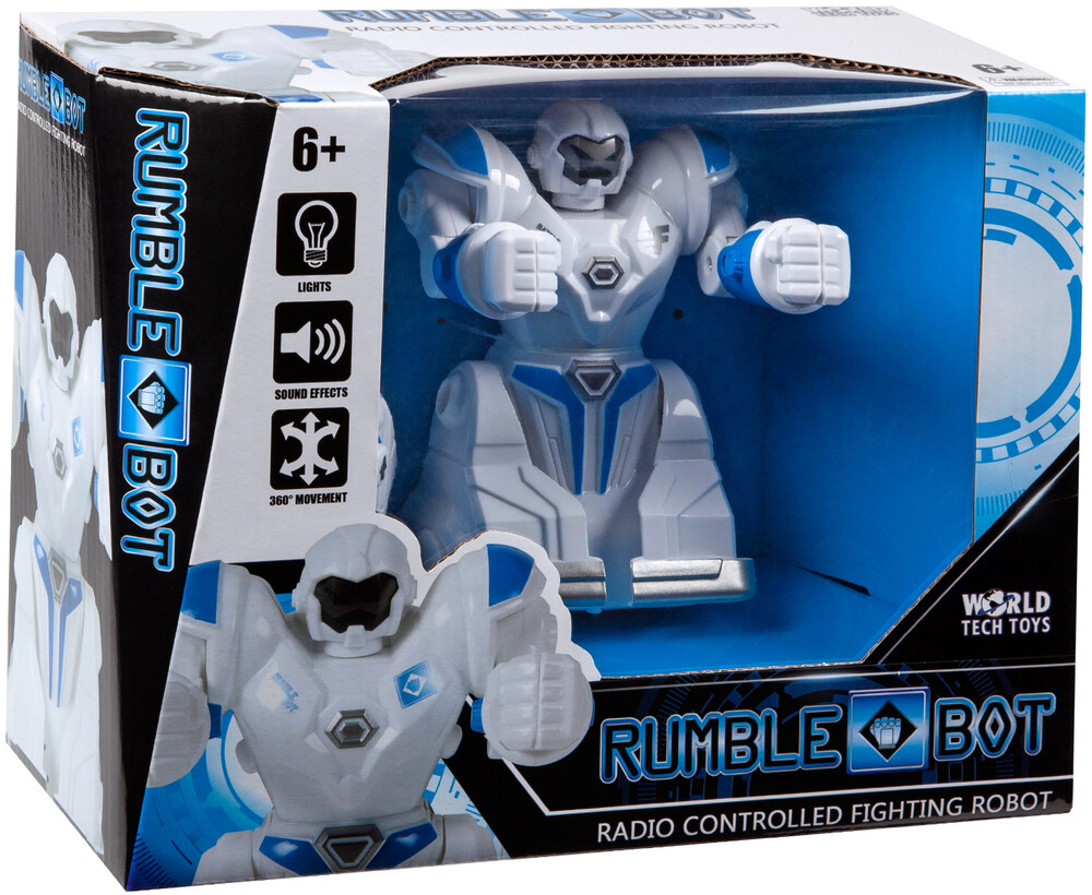 Rc Figures - Rumble Bot RC Fighting Robot