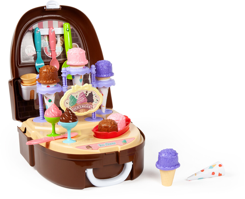 Playsets - Backpack Ice Cream Playset