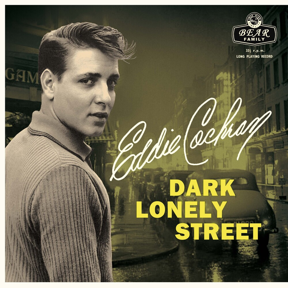 Eddie Cochran - Dark Lonely Street (10in) (Bonus Cd)