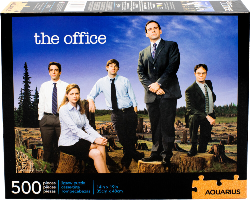 Office Forest 500 PC Puzzle - The Office Forest 500 Pc Puzzle