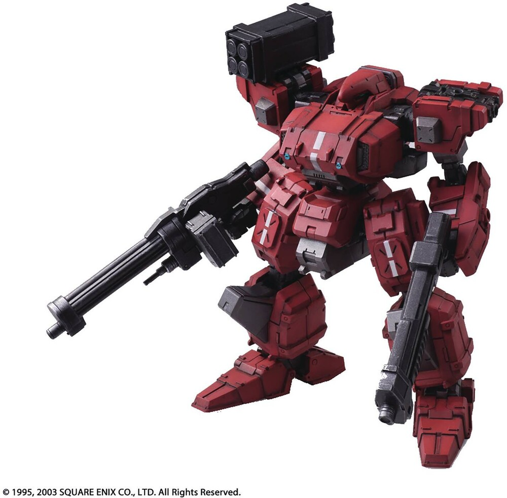 Square Enix - Square Enix - Front Mission 1st Wander Arts Frost Hells Wall VariantAction Figure