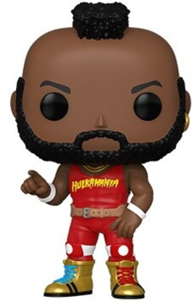 Funko Pop! WWE: - FUNKO POP! WWE: NWSS- Mr T