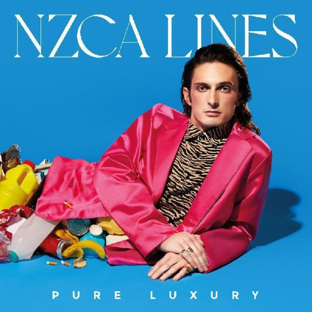 NZCA Lines - Pure Luxury [Indie Exclusive Limited Edition Neon Pink LP]