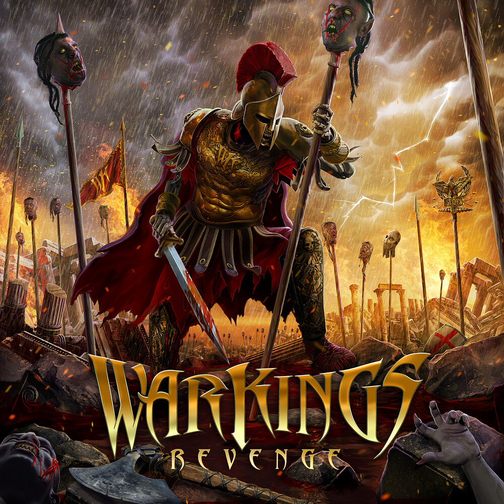 WarKings - Revenge [Colored Vinyl] (Red)