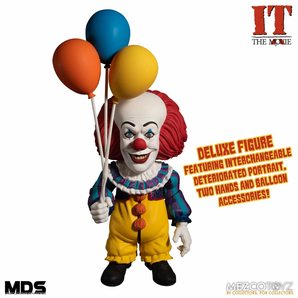 Mds It (1990): Deluxe Pennywise - Mezco Designers Series IT (1990): Deluxe Pennywise