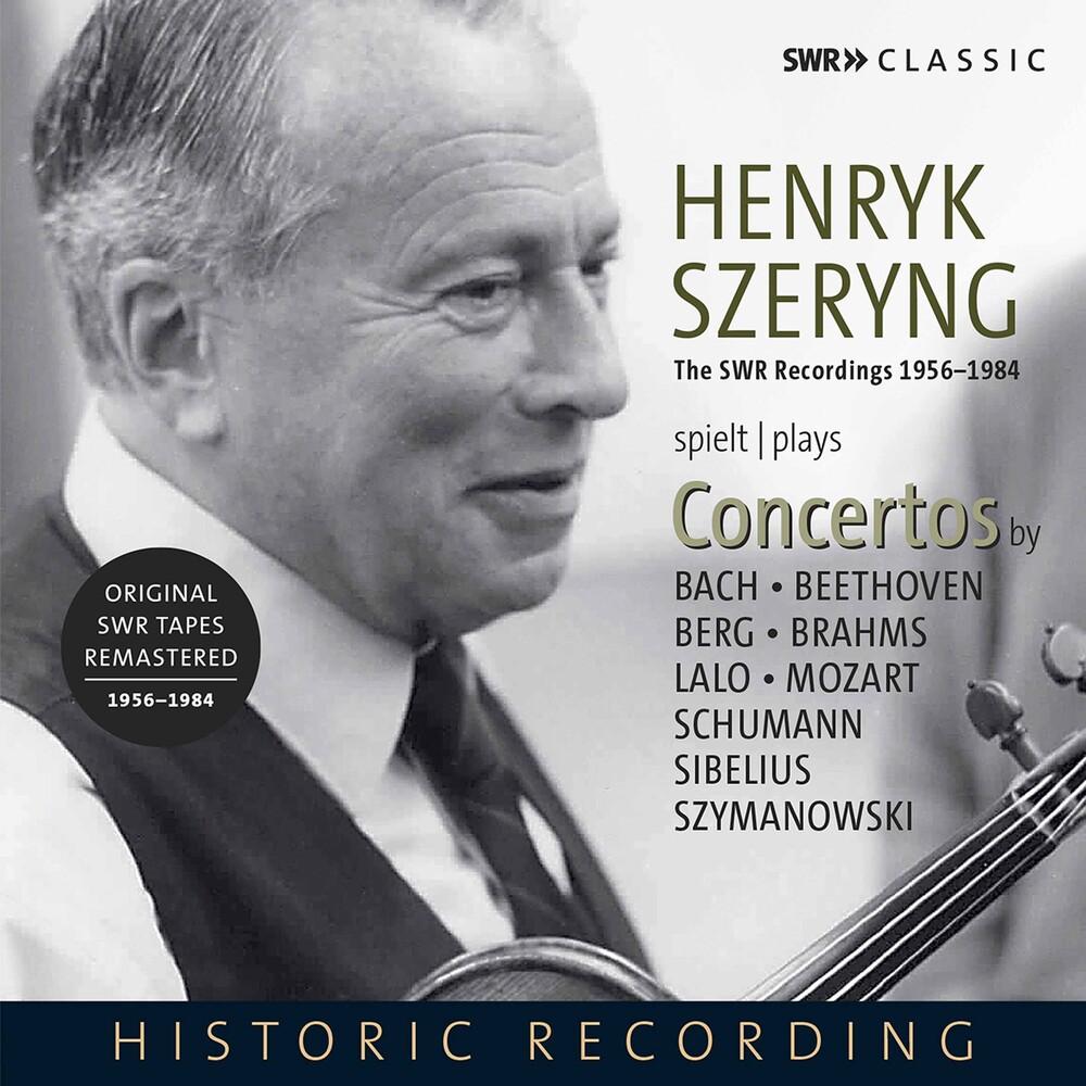 Henryk Szeryng - Henryk Szeryng Plays Concertos / Various