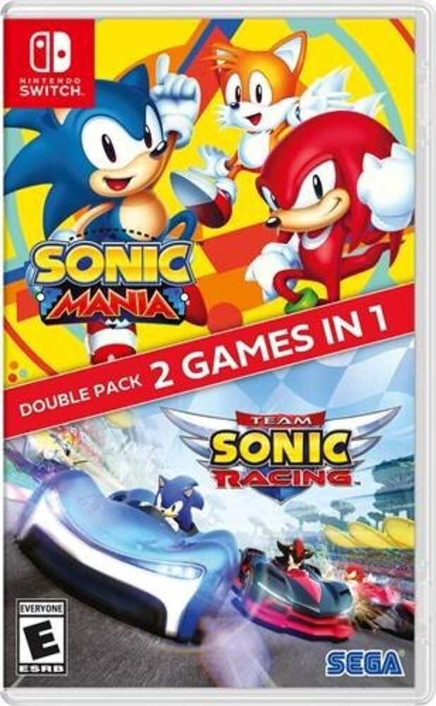 Swi Sonic Mania + Team Sonic Racing Double Pack - Sonic Mania + Team Sonic Racing Double Pack for Nintendo Switch