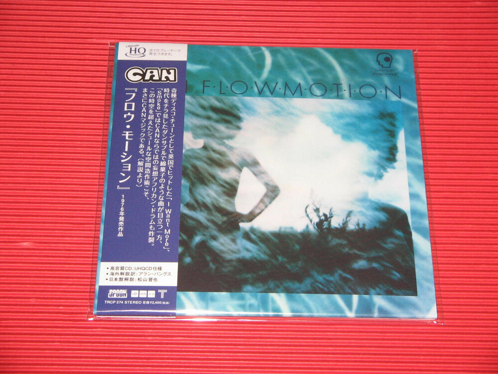 Can - Flow Motion (Jmlp) (Hqcd) (Jpn)