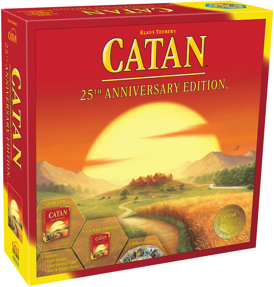 Catan 25th Anniversary Edition - CATAN 25th Anniversary Edition